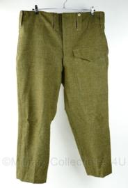 MVO BD broek / WO2 Brits model BD Battledress trouser in topstaat ! - maat 110 x 71 - origineel