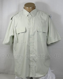 KL DT2000 Overhemd Nederlands leger lichtgroen - korte mouw - licht gebruikt - meerdere maten  - origineel