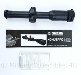 Scope richtkijker Konuspro M30 1-4X24 - met handleiding - nieuwstaat -29x5,5x7cm - origineel
