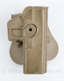 Korps Mariniers en Defensie coyote IMI holster Glock 17 - 13 x 11 x 6 cm - origineel