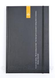KLU Luchtmacht notitieblok met quote van Winston Churchill op de cover -  21,5 x 14 x 1,5 cm - nieuw - origineel