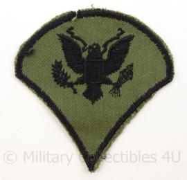 US Army Vietnam oorlog arm emblemen - rang Specialist - Cut edge Subdued - afmeting 8 x 8 cm - origineel