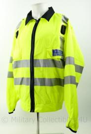Britse Politie POLICE support jacket lightweigt High Visability  met portofoon houders - nieuw - maat X large Regular - origineel
