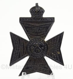 WO2 Britse pet of baret insigne The Kings Royal Rifle Corps - afmeting 4 x 5,5 cm - origineel