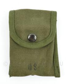 US Army Vietnam oorlog Case field 1st Aid Compass M1956 - 12,5 x 10,5 cm - origineel