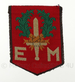 "KL DT embleem ""EM Eerste divisie 7 december"" - vorig model  - origineel"