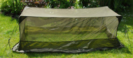 Muggengaas klamboe voor over bed of veldbed  - origineel