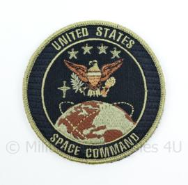 US United States Space Command embleem - met klittenband - diameter 9 cm