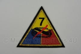 7th Armored Division patch - officer type