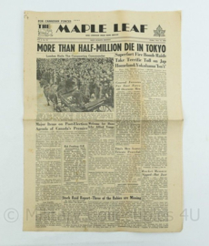 Krant Maple Leaf - 15 June 1945 -  origineel