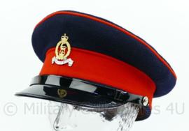 Britse leger Animo et Fide. Adjutant General's Corps visor cap met insigne - maat 58 of 59 cm - origineel