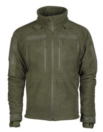 Trilaminaat Fleece jack Green - nieuw gemaakt