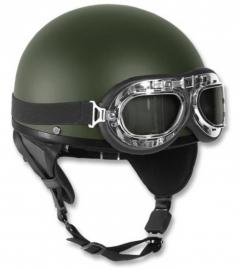 Brommer helm - groen - oud model