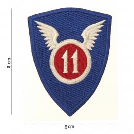 US 11th Airborne Division patch - 8 x 6 cm.