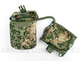 Defensie NFP Multi camo opbouwtas Persoonlijk GNK IFAK geneeskundige dienst tas - nieuw - 18 x 14 x 6 cm - origineel