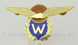 Koninklijke Luchtmacht Klu  Vlieger-waarnemer wing metaal