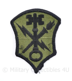 US Army Intelligence and Security Command patch Subdued - 8,5 x 6,5 cm - origineel