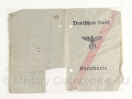 Kennkarte uit 1944 - originele WO2 Duits