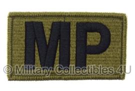 US Army OCP SSI patch Politie - MP Military Police - met klittenband - voor multicamo uniform - origineel