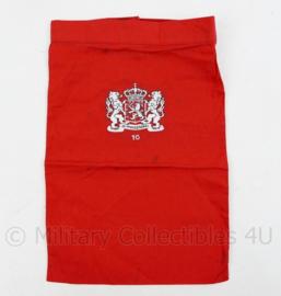 KL Nederlandse leger halsdoek 10 Natresbataljon Nationale Reserve - rood - origineel