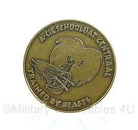 Defensie Coin - A-CieSchoolbataljon centraal A compagnie - origineel