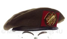 KL Nederlandse leger Intendance baret 1990 - maat 58 - origineel