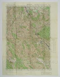 Duitse stafkaart Jugoslawien Karlovac (Karlstadt) Blatt 40 Sonderausgabe Nur für den Dienstgebrauch Joegoslavie - 64,5 x 50 cm. schaal 1:100000 - origineel 1932