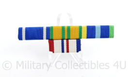 Nederlandse medaille baton voor 4 medailles - NATO medal Bosnia former Yugoslavia / Vierdaagse Kruis / Marine medaille  + HMV4 - 8 x 2,5 cm - origineel
