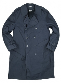 US Marine mantel / regenjas met voering DONKERBLAUW - origineel