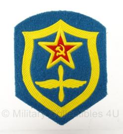 Russische USSR Air Force arm embleem - 8,5 x 6,5 cm - origineel