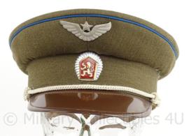 Tsjechische (czech) luchtmacht pet - groen - maat 55 - maker: Kras - origineel