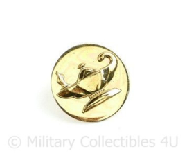 US Army enlisted collar disc pair JROTC Reserve Officers Training Corps - diameter 25,41 mm - origineel