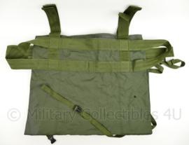 KL gewondentransportzeil - groen - zonder draagtas - origineel