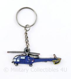 Defensie helikopter Commando sleutelhanger - 6 x 2 cm - origineel