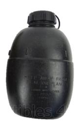 Britse leger veldfles zwart - 850 ml - origineel