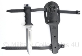 Korps Mariniers Cressi sub Ocra Duikmes Blunt tip - 32 cm - origineel