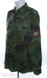 Servisch overhemd camo burgeroorlog - maat 43 - origineel
