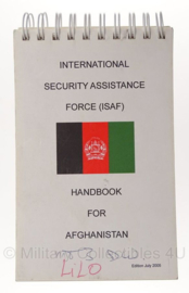 ISAF Handbook for Afghanistan - origineel