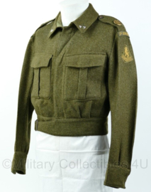 Genietroepen MVO Battledress jaren 50 Rang eerste Luitenant Maat 48 1/4 - Origineel