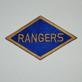 Rangers patch - 9,8 x 5,9 cm.