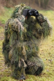 "Ghillie suit ""draad model"" - 3 delig"