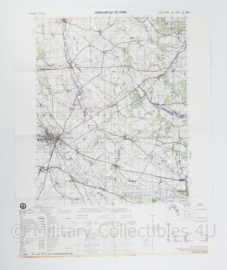 USA Defence mapping agency stafkaart Poland Stargard Sczecinski M753 2324I - 1 : 50.000 - 74 x 58 cm - origineel