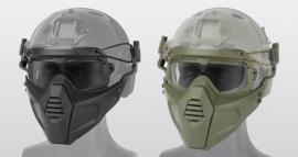 Airsoft masker Full  of Half face - Groen of Zwart