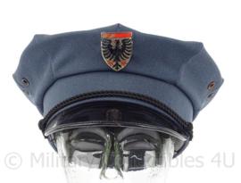 Zwitserse Politie pet - maat 57 - Maker: Eugen Kressmann - origineel