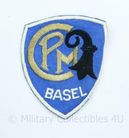 CPM Basel embleem -  8,5 x 7 cm - origineel