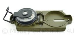Konus kompas groen - 6,5 x 8 x 2,5 cm - origineel