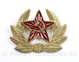 USSR Russische leger pet insigne Officier  - 5 x 4 cm - origineel