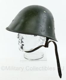 Nederlands leger Knil M38 helm met liner jaren 40 - origineel