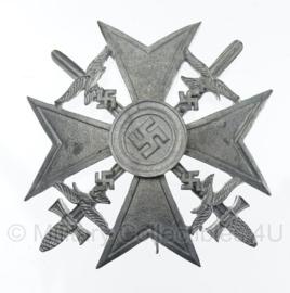 Spanienkreuz met zwaarden in Zilver