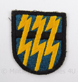 US Army Special Forces baret insigne 12th SFGA flash patch - afmeting 5 x 6 cm - origineel